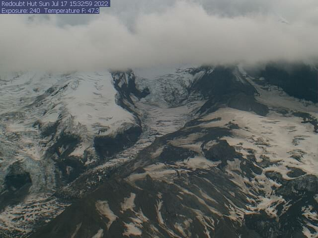 Mount Redoubt - Hut Web Cam